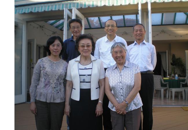 原清华大学校友总会副会长刘敏文教授